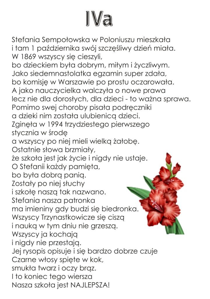 Szkoła Podstawowa Nr 13 Im Stefanii Sempołowskiej W Pabianicach
